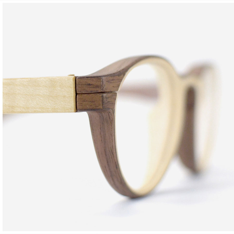 in every herrlicht frame the individual grain of the wood is preserved much like the rings of a tree - Wood Frame Glasses